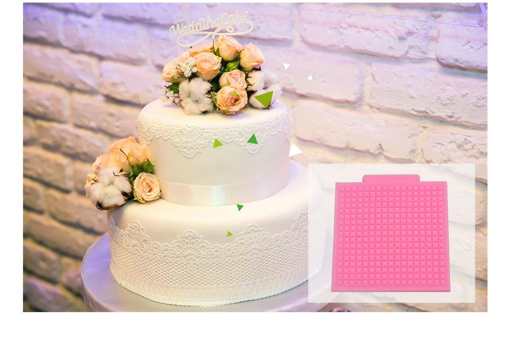 Texture Wool Jersey Silicone Fondant Cake Decoration Mold