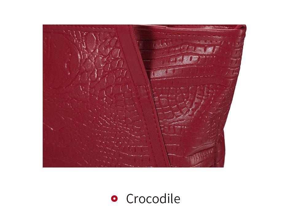 Brief Women Pocket Shopper Bag