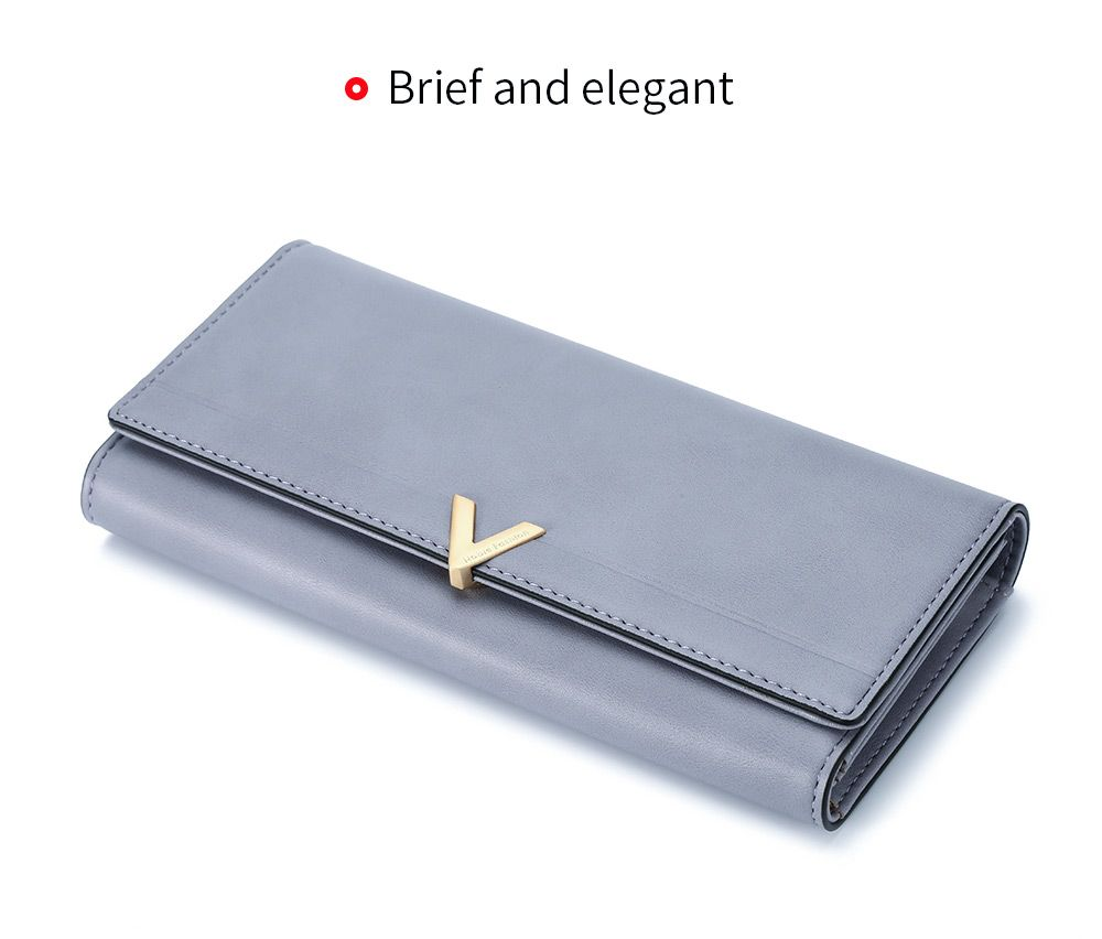 Brief PU Leather Women Purse