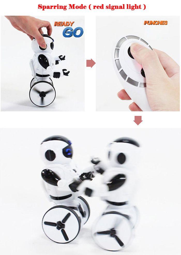 JXD 1016A KIB Intelligent Balance RC Robot Wheelbarrow Dancing Toy Gift