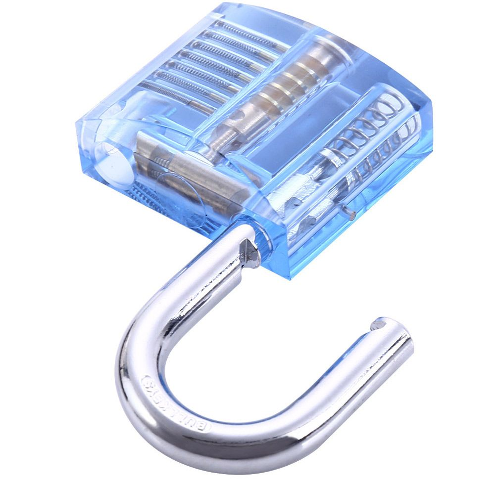 ZH - 0121 Transparent Practice Padlock Inside-view Pick for Locksmith