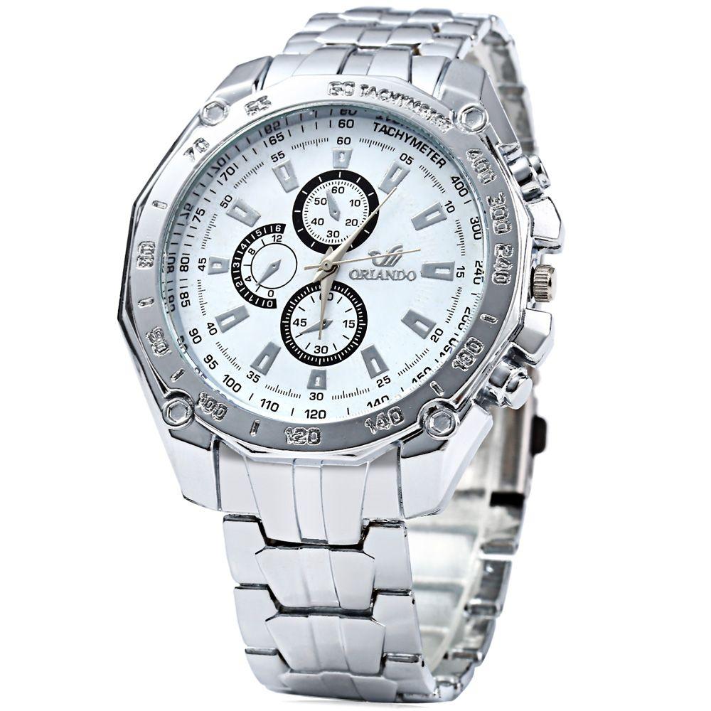 ORLANDO 410 Men Quartz Watch with Decorative Sub-dials