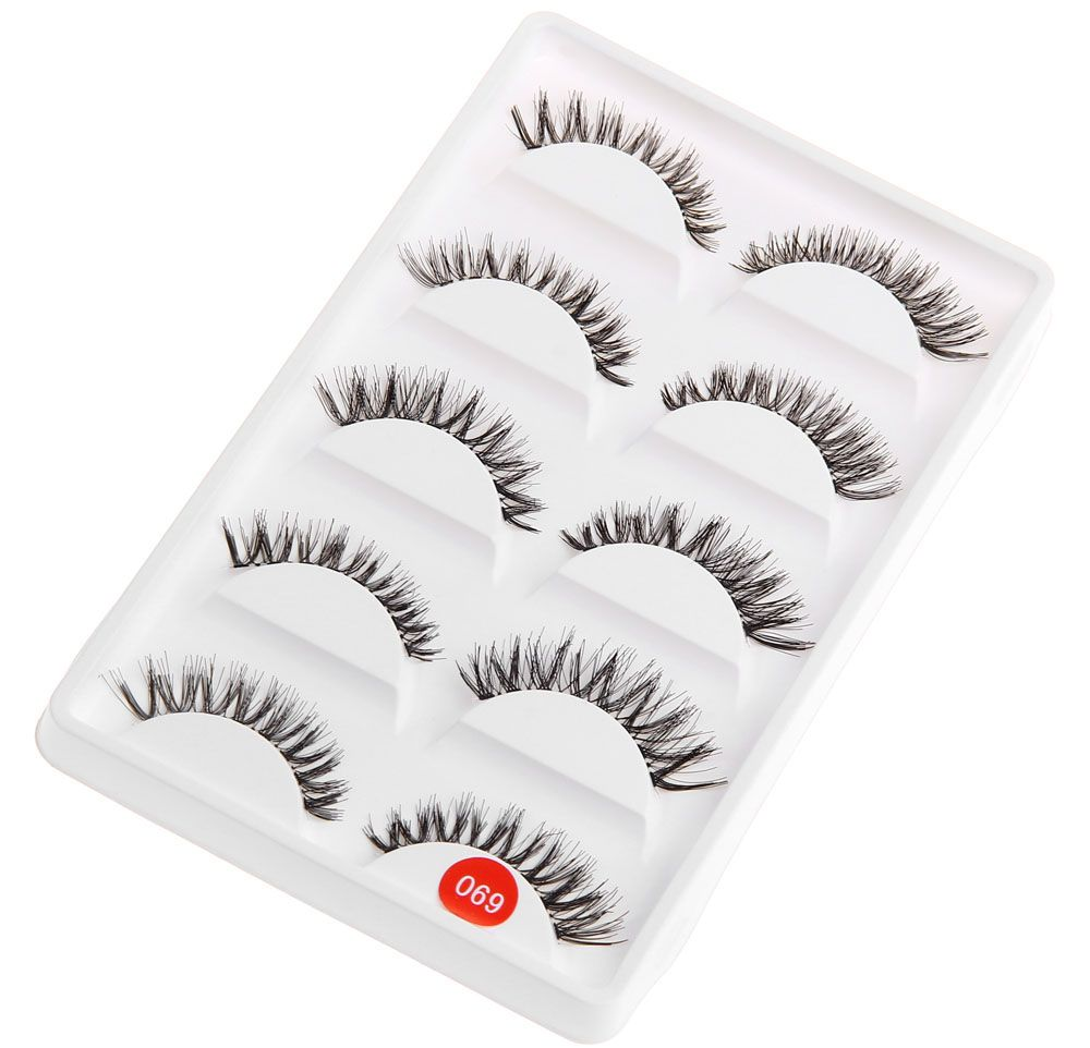 Exaggerated Eye Tail Lengthening Thick Reusable Fake Eyelashes