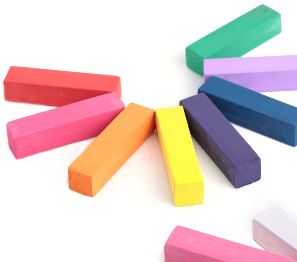 12 Colors Soft Pastels Salon Kit Fast Temporary Short Hair Dye Chalk