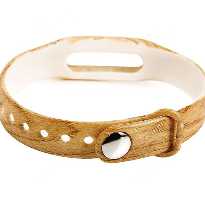 Rubber Band with Wood Grain