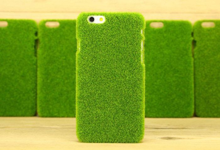 Practical Lawn Style Phone Back Cover Case Protector for iPhone 6 / 6S
