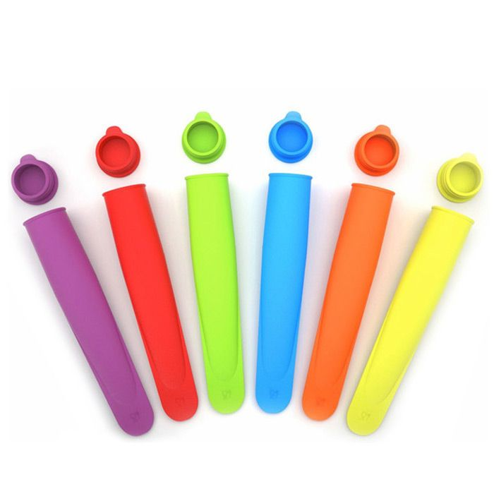 Silicone Popsicle Mold Ice Cream Cube Making Tool