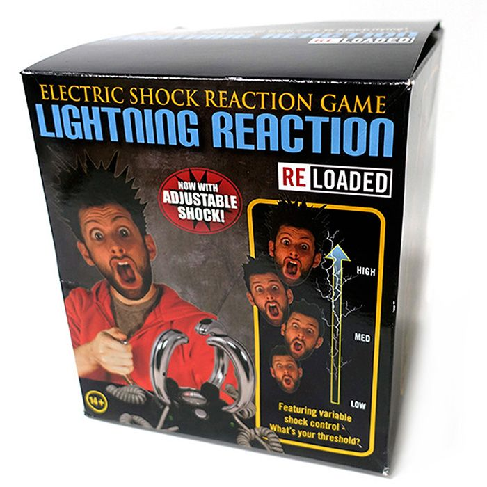 Lightning Reaction Trick Toy for 2 - 4 People Punish Game