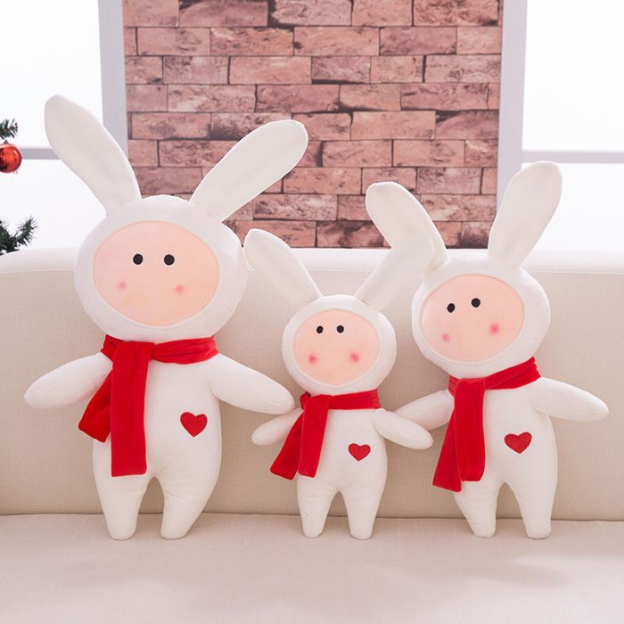 Rabbit Tuzki Animation Action Figure Doll Stuffed Toy for Kid