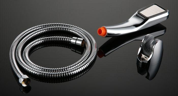 Bathroom High Pressure Shower Head Set Professional Handheld Water Saving Sprinkler