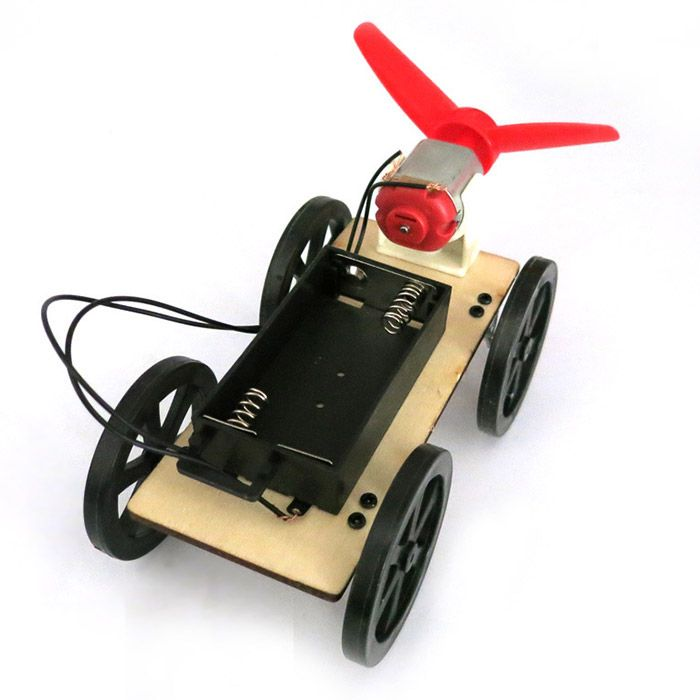DIY Wind Car B2 Assemble Educational Toy