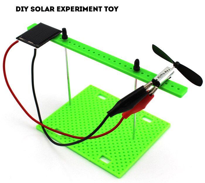 DIY Solar Power Experiment A1 Toy Assemble Toy Educational Novel Gift