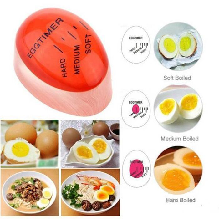 Creative Magic Color Changing Egg Timer Cook Thermometer Kitchen Gadgets