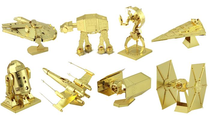 3D Military Model Metallic Building Puzzle Educational DIY Bend Fold Assemble Toy