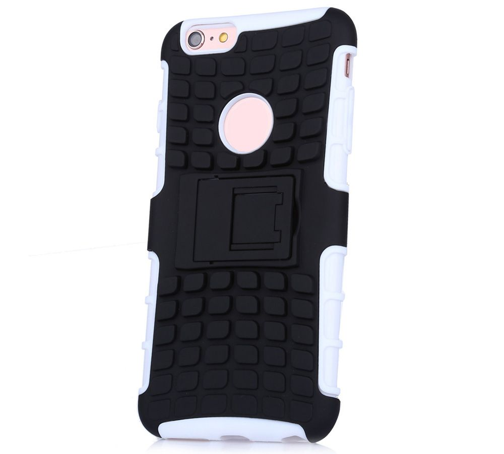 2 in 1 Tread Pattern Phone Cover Protective Case for iPhone 6 / 6s