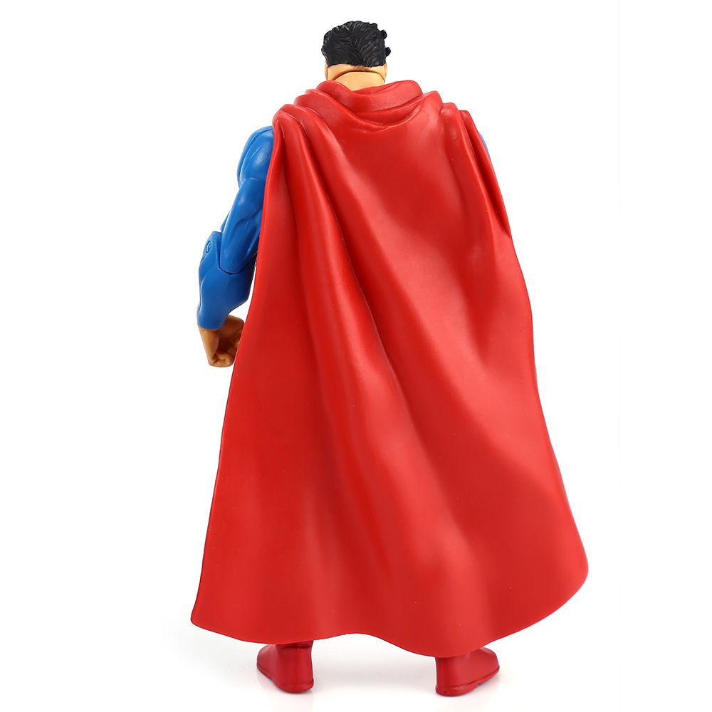 7 inch Excellent Anime Hero Style Plastic Action Figure Toy with Rotatable Joint Home Office Decor