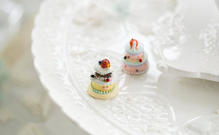 Super Mini 2.5cm Height Stimulation Cake Decoration / Toy