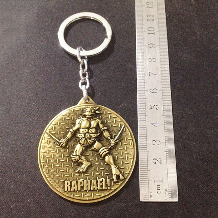 Key Chain Metal Turtle Style Hanging Pendant Keyring Movie Product for Key Bag Decoration