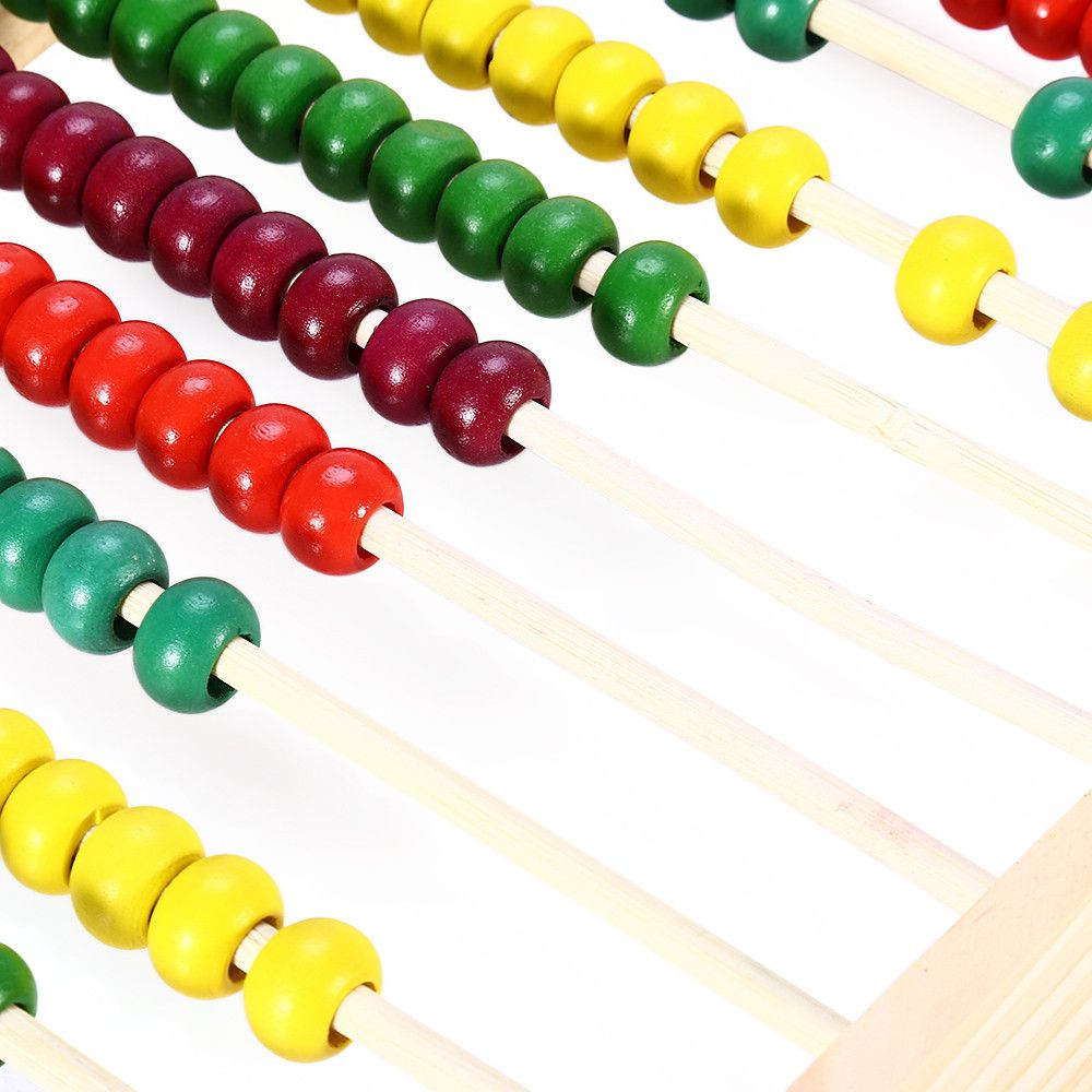 Wooden Beads Abacus Counting Intelligence Toy for Kid