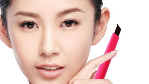 Natural Waterproof Rotating Automatic Eyebrow Pencil Cosmetic Makeup Tool