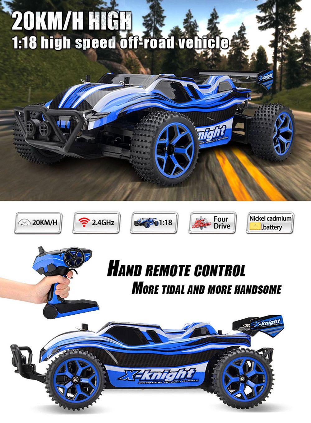 ZC X - Knight 333 - GS05B 1 / 18 Full Scale 4WD 2.4G 4 Channel High Speed Crossing Car RTR