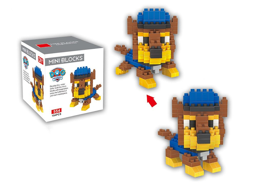LOZ ABS 194Pcs Dog Style Building Block Educational Toy Birthday Present