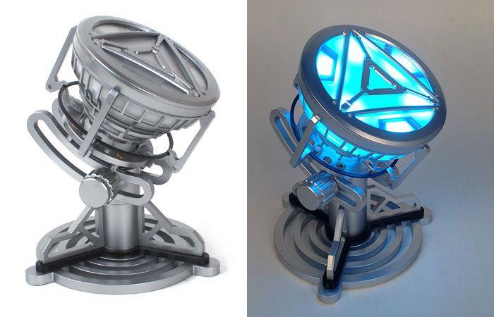 1 : 1 Scale Cosplay Prop Arc-reactor Desk Lamp Decorative Action Figure Sleeping Light
