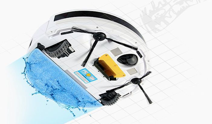 Practical Robotic Cleaner Mop for ILIFE V3 V5 CW310 Cleaning Machine Accessories