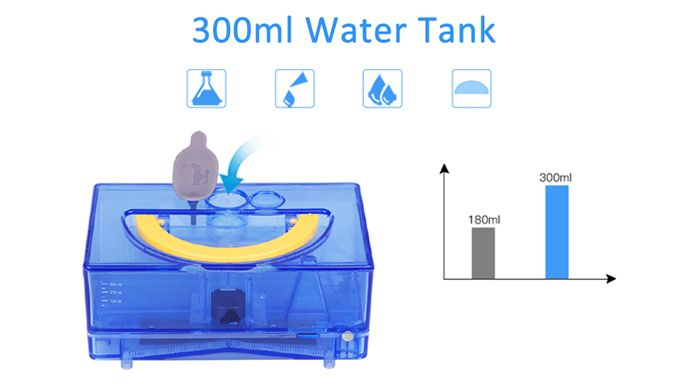 Professional 300ml Water Tank for ILIFE V5S Robot Vacuum Cleaner Accessories