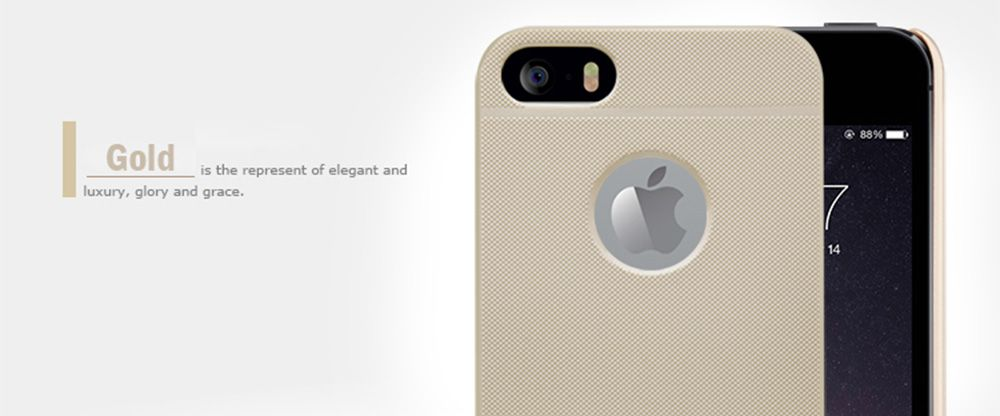 Nillkin Frosted Matte Style Mobile Back Case Protector for iPhone 5 / 5S / SE with Screen Film
