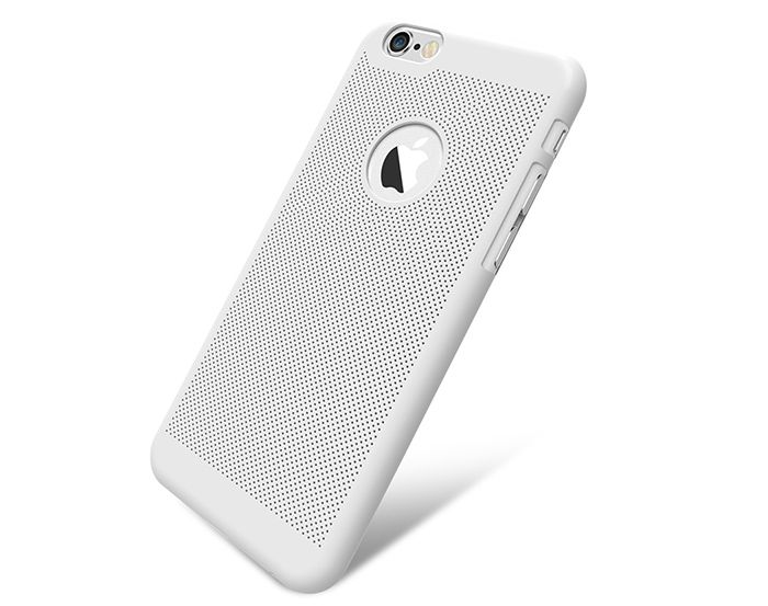 Breathable Protective Back Cover Case for iPhone 6 / 6S Soft Mobile Protector with Nano Hole