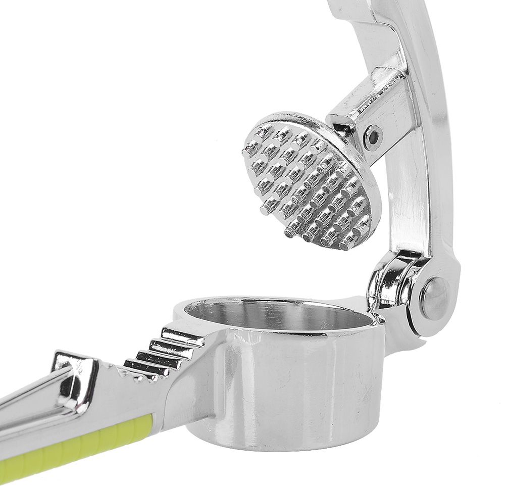 Handheld Stainless Steel Garlic Presses Long Arm Ginger Crusher Kitchen Tool