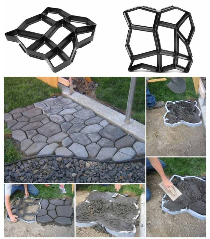 Practical Paving Concrete Mold Pavement Brick Patio Slabs Making Tool