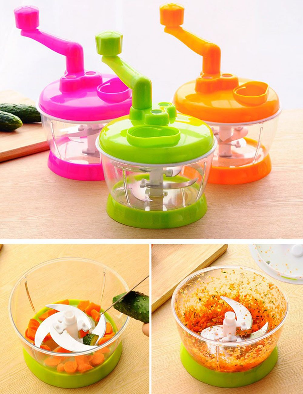Colormix Multi-functional Vegetable Chopper Kitchen Fruit Food ...