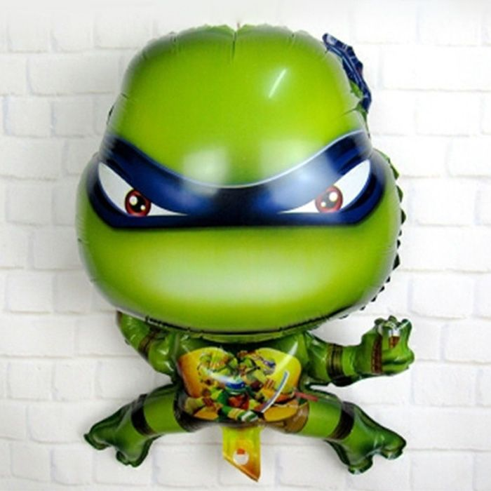 Auto-Seal Turtle Style Foil Balloon Reuse Party / Birthday Decor Inflatable Gift for Children