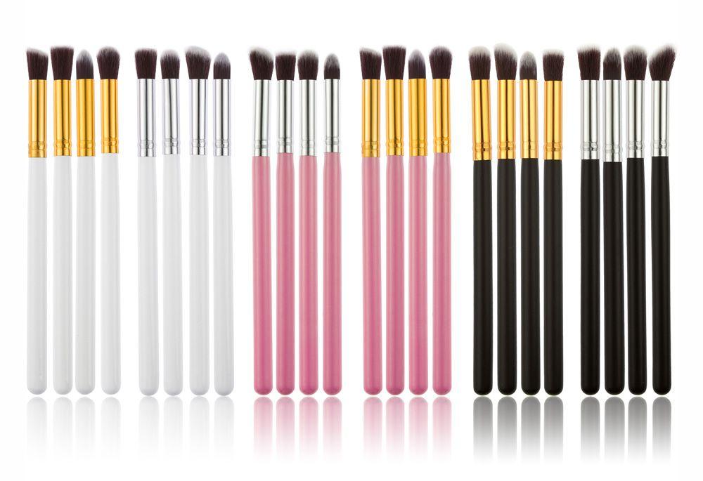 4pcs Makeup Cosmetics Liquid Foundation Blending Brush
