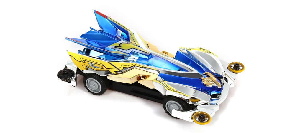 AULDEY 88506 Racing Car ABS Educational Birthday Present with Brushed Motor
