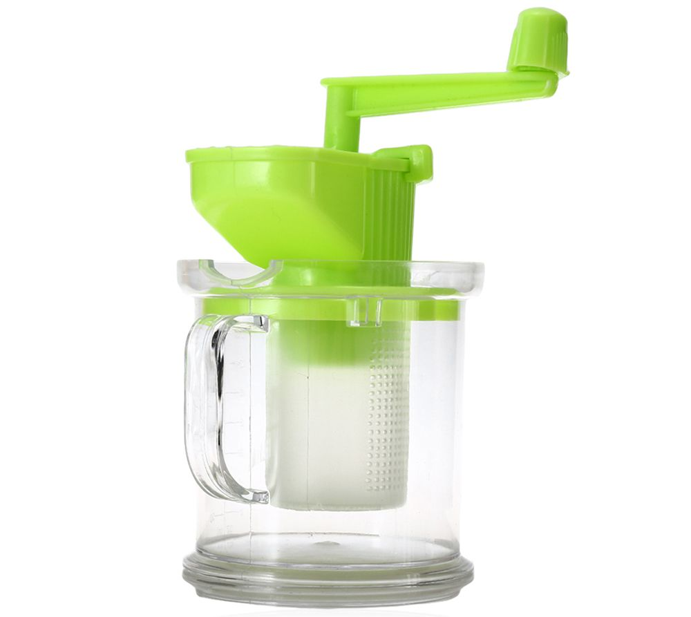 Multi-purpose Hand-operated Soybean Milk Maker Fruit Juicer Extractor