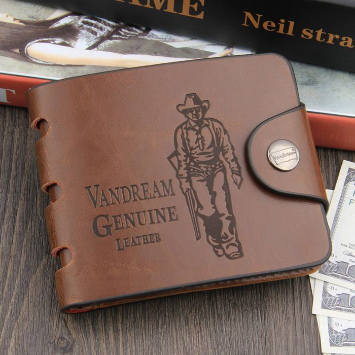Leisure PU Classic Man Wallet