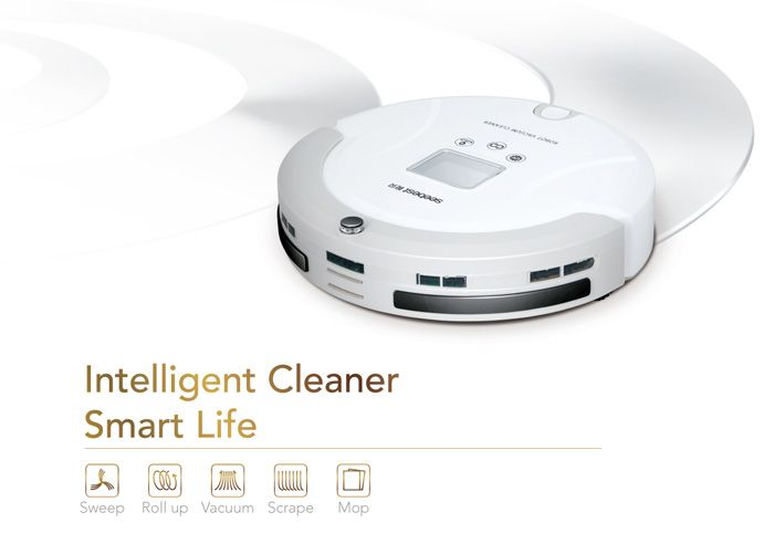 SEEBEST C561 Smart Robotic Vacuum Cleaner Dry Wet Cleaning UV Sterilization