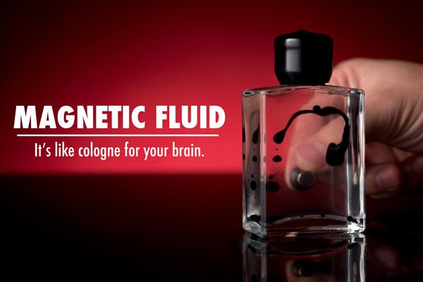 Magnetic Liquid Display Ferrofluid in Bottle Amazing Liquid Reacts to Magnet Educational Toy