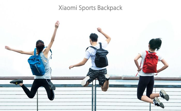 Original Xiaomi 20L Nylon Water Resistant Sports Backpack