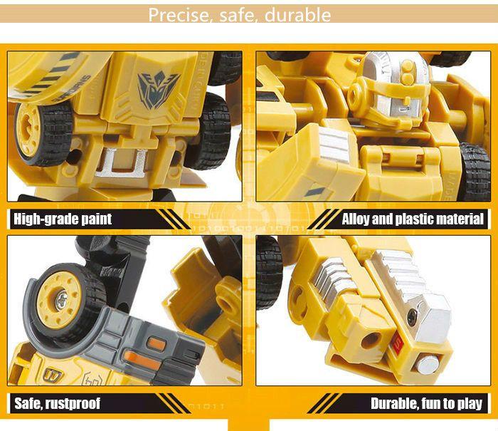 Transform Warrior 3D Robot Car Building Block Puzzle