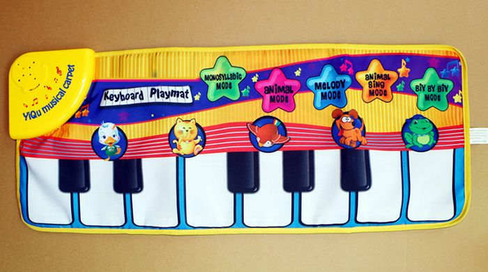 Animal Piano Music Mat for Enhancing Kid Intelligence Development