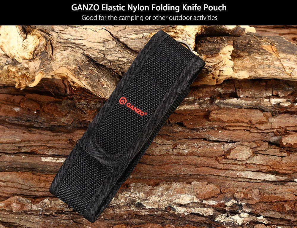 GANZO Durable Nylon Folding Knife Pouch