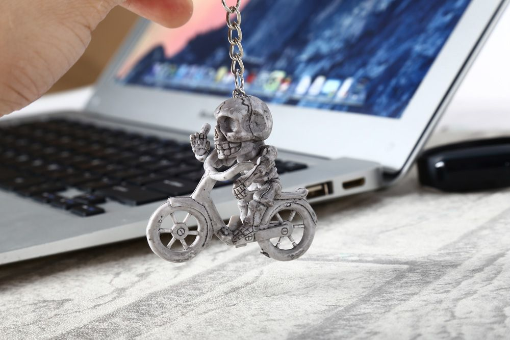 Creative Skull Shape Key Chain Pack