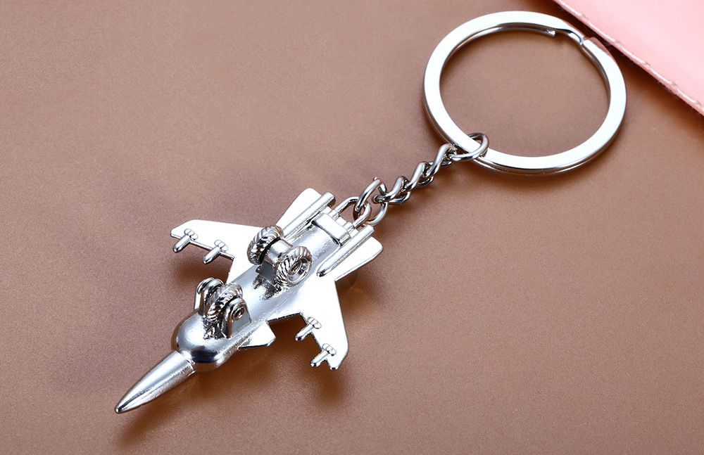 Creative Plane Pattern Key Chain
