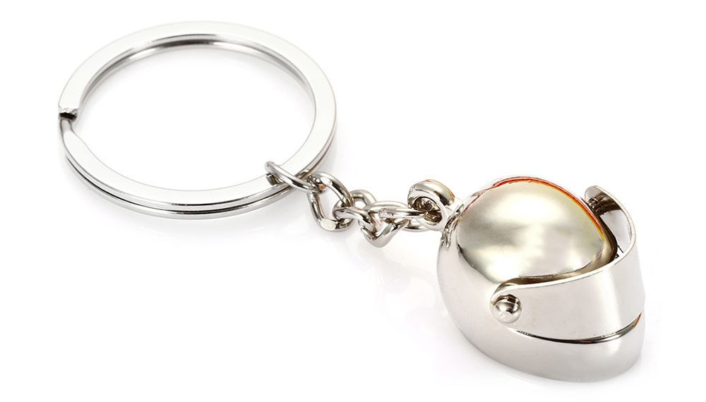 Creative Motor Helmet Shape Key Chain