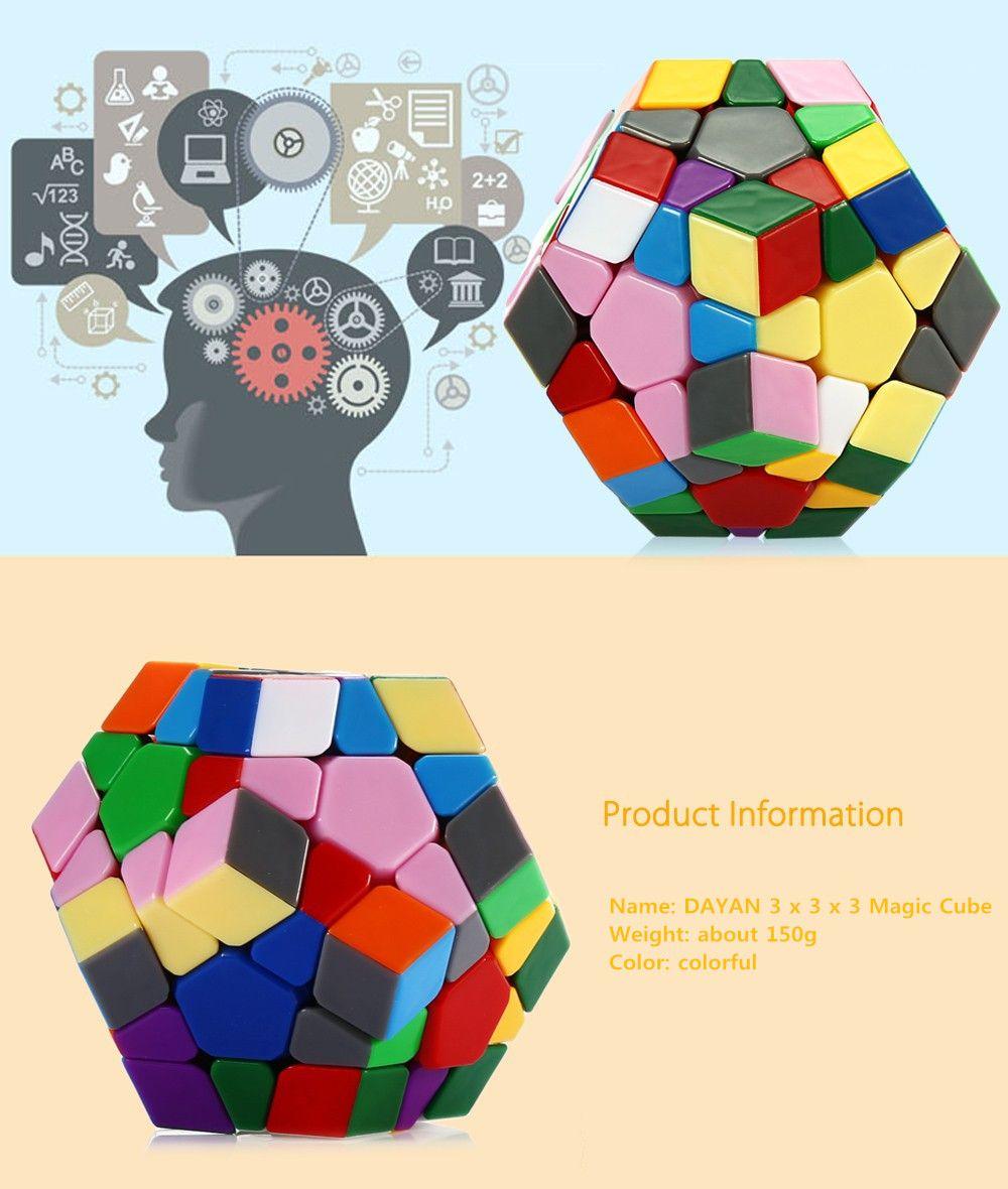 DaYan Dodecahedron Irregular Magic Cube Brain Teaser Educational Toy