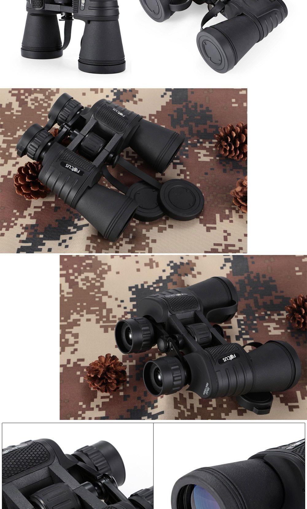 20 x 50 HD Portable Multi-coated Military Binocular